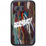 Husă Flatbush Zombie Paint Samsung Galaxy Young 2 G130, Silicon, Husa