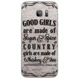 Husă Country Girls Outes SAMSUNG Galaxy S7 Edge, Silicon, Husa