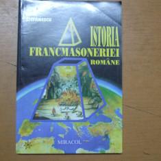 Istoria francmasoneriei  moderne Paul Stefanescu Bucuresti 1999