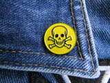 Insigna metalica de rever Poison logo (Rock, Heavy, Thrash, Speed, Death)
