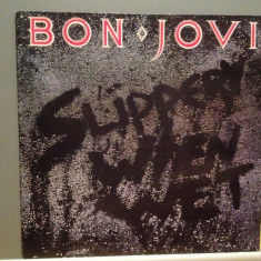 BON JOVI – SLIPPERY WHEN WET (1986/POLYGRAM/HOLLAND) - Vinil/Analog (NM-)