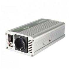 Invertor tensiune, Sal SAI 60USB, 12V DC/220V AC, max.600 W, USB
