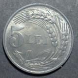 5 lei 1942 10 aUNC