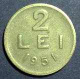 2 lei 1951 1 CUPRU