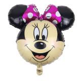 Balon Folie  Cap Figurina Minny Mouse roz   - 66x63, Disney