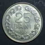 25 bani 1955 UNC