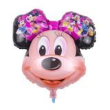 Balon Folie  Cap  Figurina Miinnie Mouse mare   - 78x63, Disney