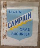 Campion UCFS, oras Bucuresti// imprimeu textil
