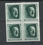 GERMANIA (REICH) 1937 – PORTRET ADOLF HITLER, bloc din colita nestampilat, J49