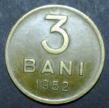 3 bani 1952 5 aUNC