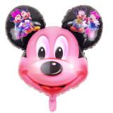 Balon Folie  Cap  Figurina Mickey Mouse mare   - 78x63, Disney