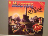 MASTERS OF ROCK – VARIOUS ARTISTS  (1984/K-TEL/RFG) - Vinil/NM-, Polygram