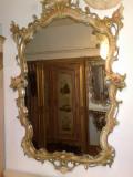 Oglinda stil baroc venetian, vintage, Consola, 1900 - 1949