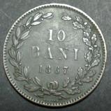 10 bani 1867 3 Heaton