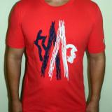 Tricouri de Firma - Crem / Rosu / Alb / Bleumarin Model Nou !!!, L, M, XL, XXL, Maneca scurta