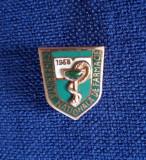 Insigna Medicina 1958 - Conferinta nationala de farmacie - Rara