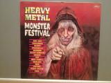 HEAVY METAL – MONSTER FESTIVAL – VARIOUS  ARTISTS (1988/POLYGRAM/RFG) - Vinil/NM