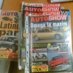 Colectie Reviste auto Auto Show ( Autoshow ) din 2000-2001
