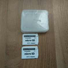 SD2vita versiunea 5 - card microsd / vita - Vita Adapter soft max 3.70, Card memorie