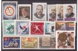 URSS 1957-1965 - Lot timbre neuzate