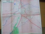 Sibiu harta turistica 40 x 53 cm color