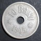 A4266 10 bani 1905