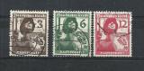 GERMANIA (REICH) 1937 – MILITARI INFANTERISTI,  serie stampilata, J53, Stampilat