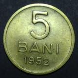 A4238 5 bani 1952 aUNC