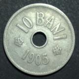 10 bani 1905 2