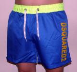 Bermude de Firma Model Nou !!!, L, M, S, XL, XXL, Albastru, Poliester, Dsquared2