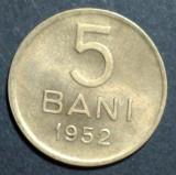 5 bani 1952 5 UNC