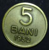 5 bani 1952 7 aUNC