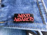 Insigna metalica de rever Amon Amarth logo (Rock, Heavy, Thrash, Speed, Death)
