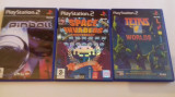 Lot 3 jocuri: Pinball + Tetris + Space Invaders  - PS2 [Second hand], Shooting, 3+, Multiplayer