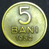 A4236 5 bani 1952 aUNC
