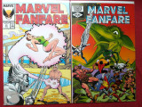 Marvel Fanfare #03 & #33 (Marvel comics)-reviste benzi desenate