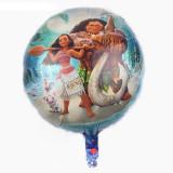 Balon Folie Figurina Moana-Vaiana+Maui 44X44, Disney