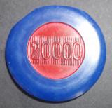 A4421 Jeton Casino Cazinoul Sinaia 20000 LS Albastru
