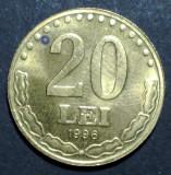 20 lei 1996 5 aUNC