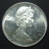 Canada 1 dollar 1965 Argint, America de Nord