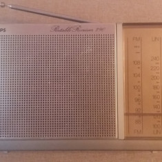 Radio philips vechi 90AL290 made in singapore, Analog