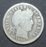 America SUA 1 dime 1909 Argint, America de Nord