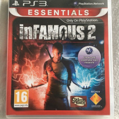 Joc Infamous 2, PS3, original, alte sute de jocuri!, Shooting, 18+, Single player, Sony