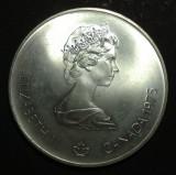 Canada 5 dollars 1976 Argint, America de Nord