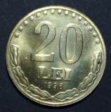20 lei 1996 7 aUNC