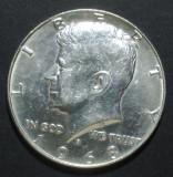 America SUA 1/2 dollar 1968 2 Argint, America de Nord