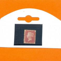 133-ANGLIA-GB-Regina VICTORIA-1858-1869,one penny,nestampilat P-K,plate 166.