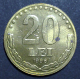 20 lei 1996 3 aUNC