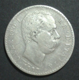 Italia 2 lire 1887 Argint, Europa