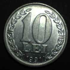10 lei 1991 UNC